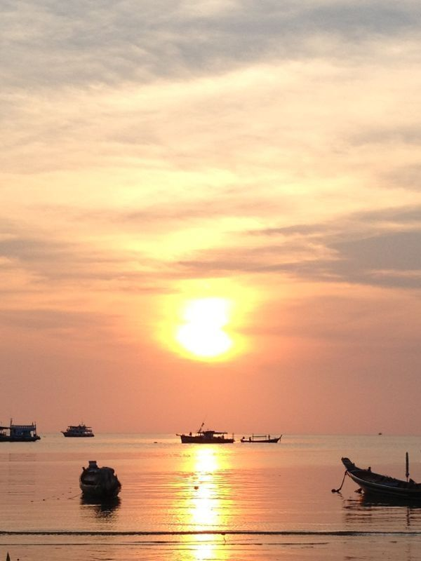 Koh Phi Phi, Sunset  #Thailand, #KohPhiPhi #Sunset #Travel