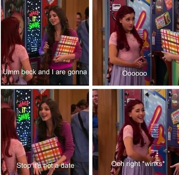 Ariana Grande from Victorious am played Cat!! Love u Ariana