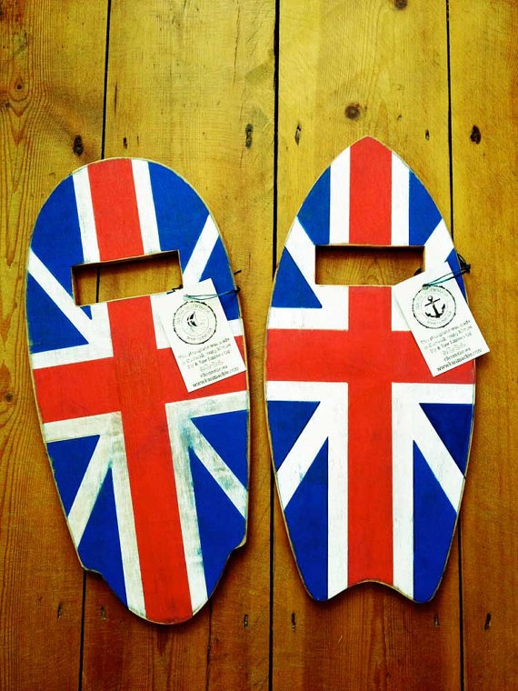 NEW The Patriot Handplane Handcrafted from Gaboon Marine Ply by karlmackie, £45.00