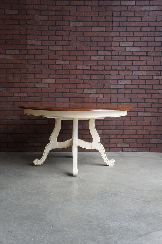 Round Dining Table French Provincial Dining Table Country Dining