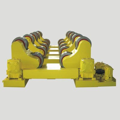 Self-aligning turning rolls is consist of one active roller and one idle roller...https://goo.gl/Fyk2BZ