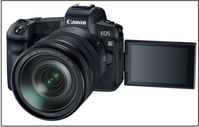Canon Just Announced Its First Full Frame Mirrorless Camera Canon Eos R Canon Eos Eos Digital Camera