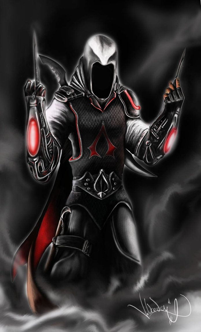 If Assassins Creed & Batman Beyond ever had amazing babies, i think they'd look exactly like this... amazing work by spirit3886 on deviantart.com