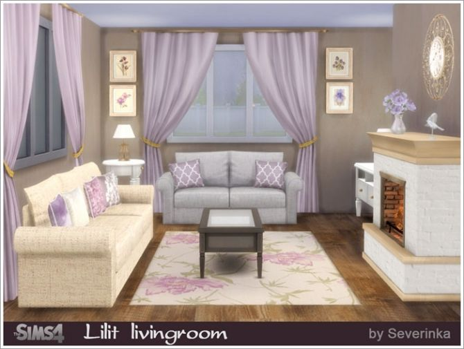 A Set Of Furniture And Decor For The Living Room In Classic Style Found In  TSR Category U0027Sims 4 Living Room Setsu0027 Part 85