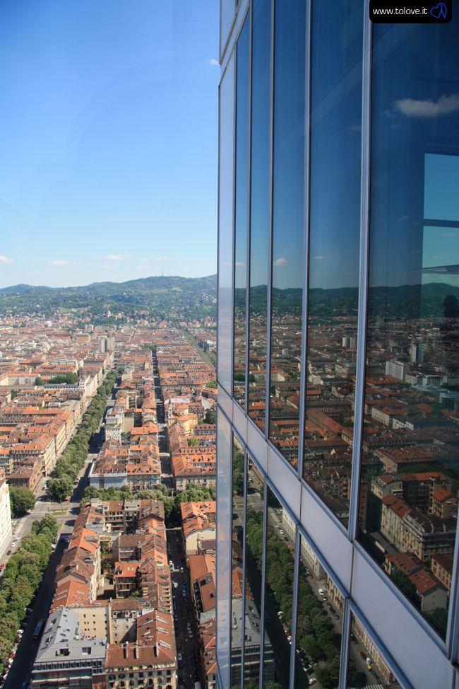Dalla terrazza del grattacielo | TOlove Amare Torino