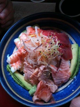 Sushi at Rice and Fish - paris