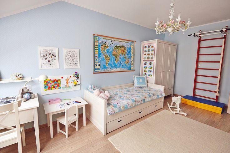 Расположение мебели в детской, фото 2