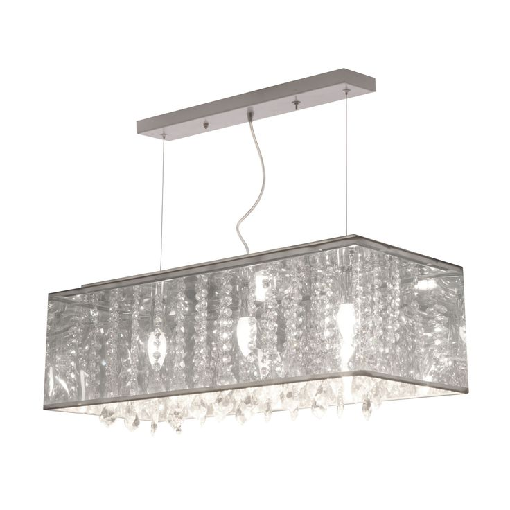 Let the Blast ceiling lamp's radiant metallic glow shine throughout any space. This beautiful juxtaposition of industrial and bourgeoisie flare has a myriad of crystals draped in a translucent metallic shade topped with a chrome base.