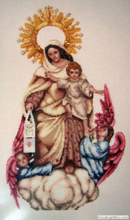 Virgen de la Merced (Scarlett's Creaciones)