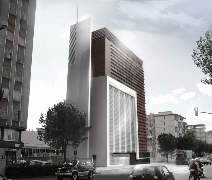 City view positioning render of ''Hotel Monginevro.'' The projects of Starhotels which one in Florence, one in Milan have been made for a competition in Florence and Milano also Starhotels by Claudio Nardi got the 1st prize. #Competition #Design #Architecture #Building #Hotel #Bright #Stone #Wood #Glasswall #Aluminum #render #3D #Light #Contemporary #Architecture #ClaudioNardi #ClaudioNardiArchitects