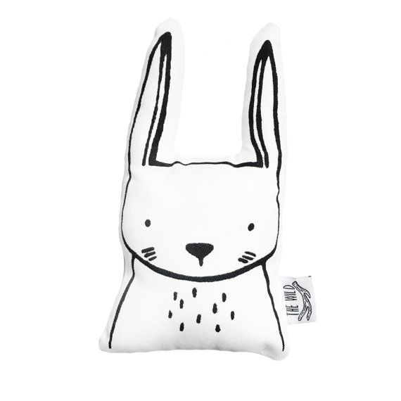 Hazel the Arctic Hare Soft Toy Pillow by The by TheWildKidsApparel