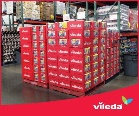 Look out for great value with Vileda All Purpose Cloths 30x value pack this month at Costco! With spring cleaning coming soon now is a great time to stock up.