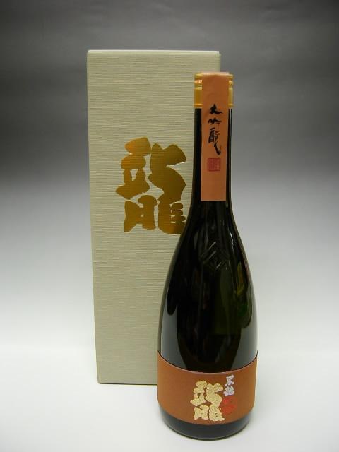 Kokuryu Dai Ginjo Ryu Dragon / Sake / 黒龍 大吟醸 龍