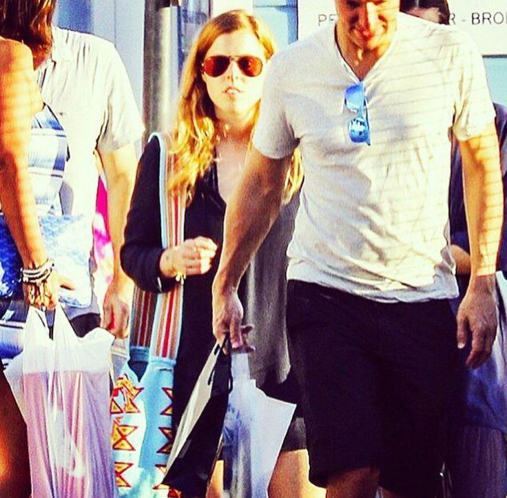 Princess Beatrice spotted wearing Luxury Mochilla bag @everydaysugar.com