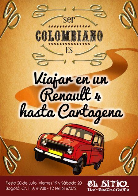 #Cartagena, #SerColombiano