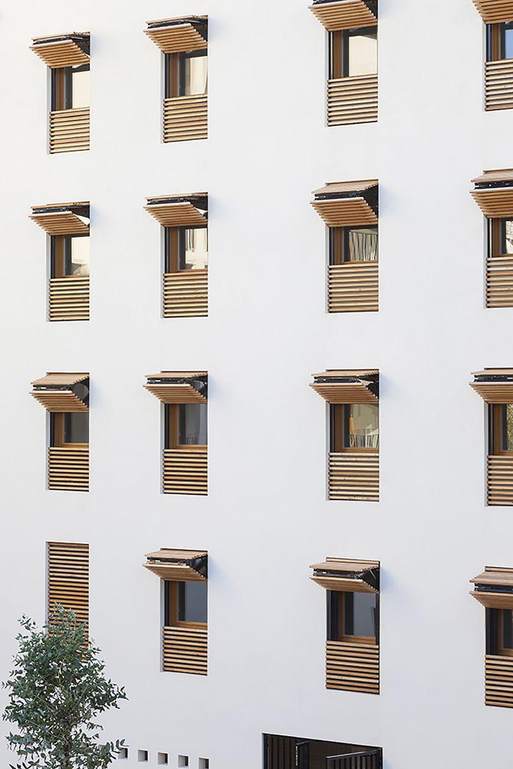 Imagen 4 de 14 de la galería de 58 Viviendas Sociales en Antibes / Atelier PIROLLET architectes. Fotografía de Serge Demailly