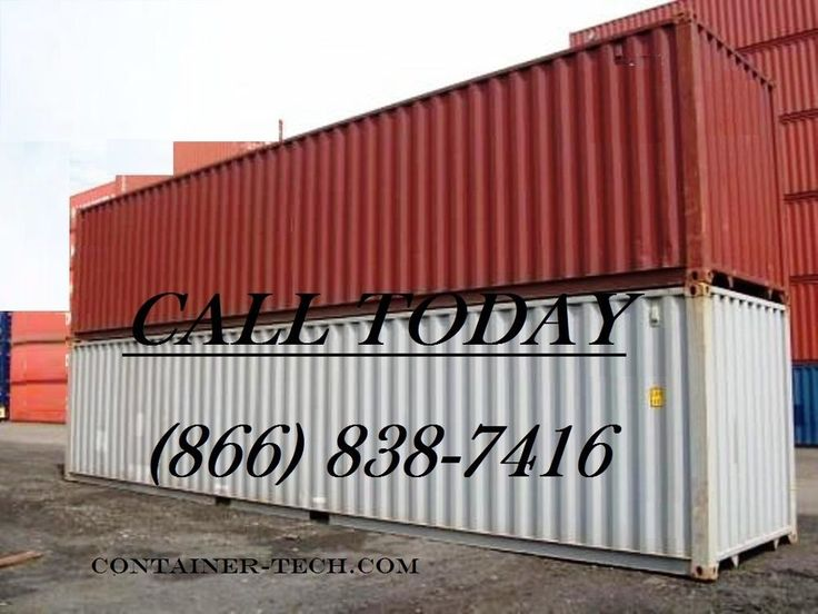 40' Standard steel Cargo Ocean Shipping Storage Containers / Conex Boxes