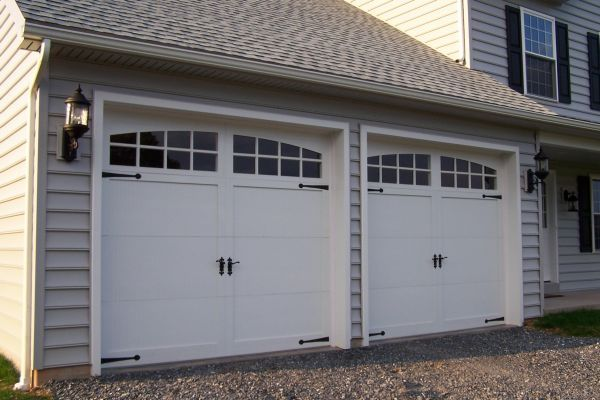 sectional standard garage door sizes