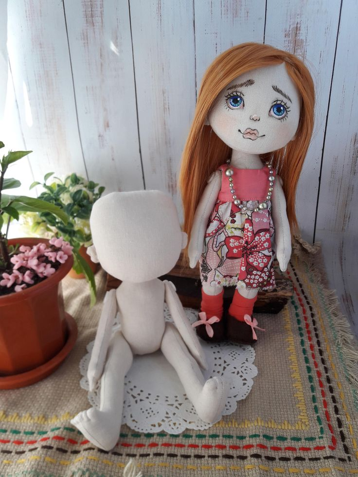 Pattern of the  doll ,  Dress and shoes .10 inches (26 cm) height. by Savkota on Etsy
