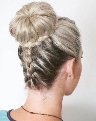 cool 20 Braided Updos for Girls