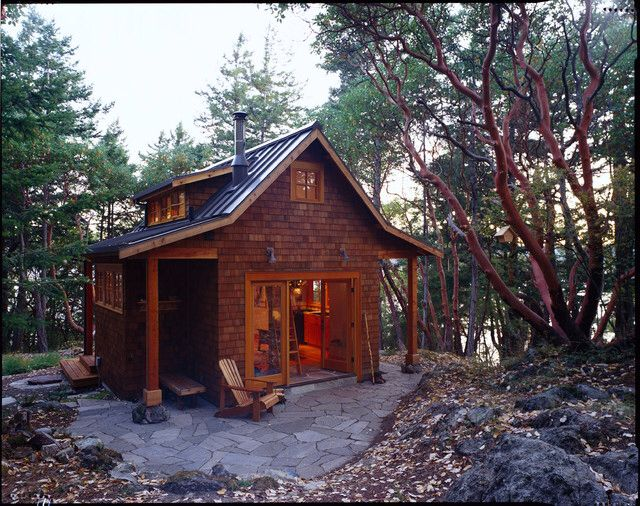 Super cute Orcas Island Cabin. Houzz.com