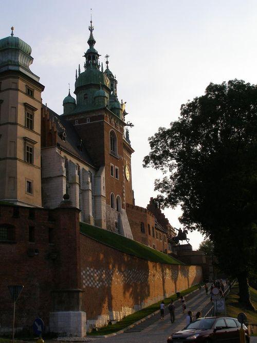 Wawel Hill in Krakow,Poland