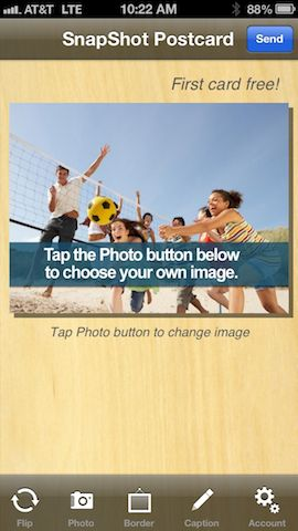 SnapShot Postcard - Send any pic from your phone as a postcard to ANYWHERE! #snapshotcards snapshotpostcard.com