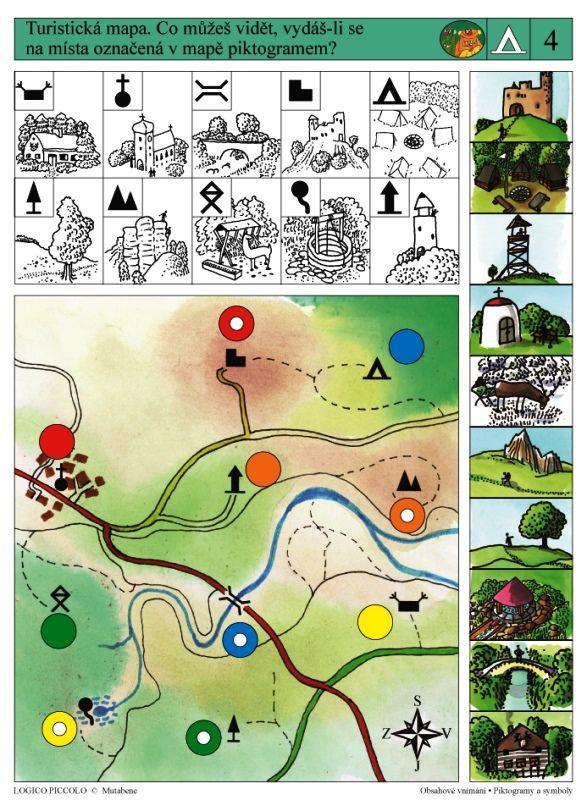 LOGICO PICCOLO | Obsahové vnímání | Piktogramy a symboly | Didaktické pomůcky a hračky - AMOSEK