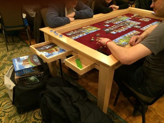 Image result for DIY RPG Gaming Tables