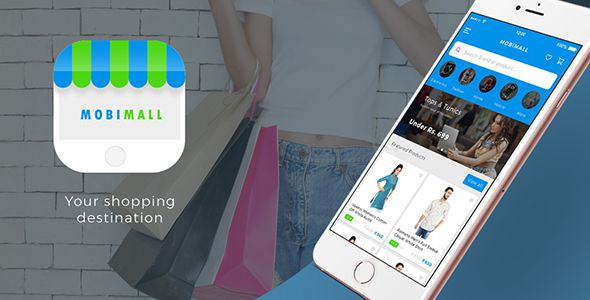 Ecommerce Android app with Woocommerce backend + Ecommerce