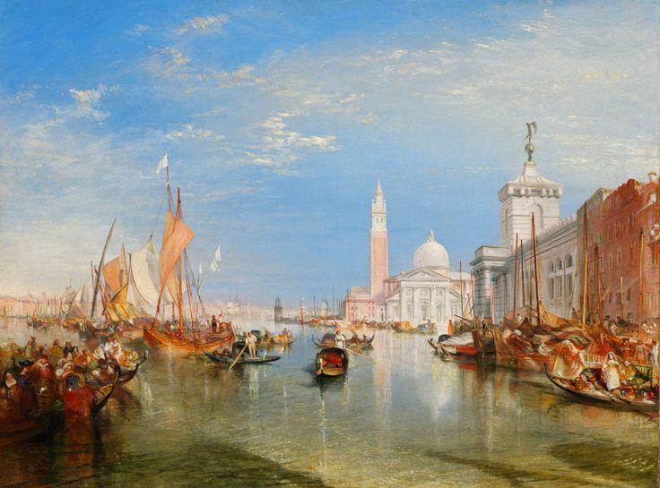 J. M. W. Turner's painting of Venice #impressionism #painting