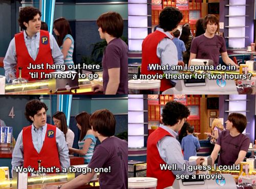 Drake and Josh!!! Loved this show