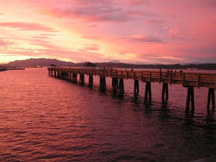 Campbell River Pier, BC