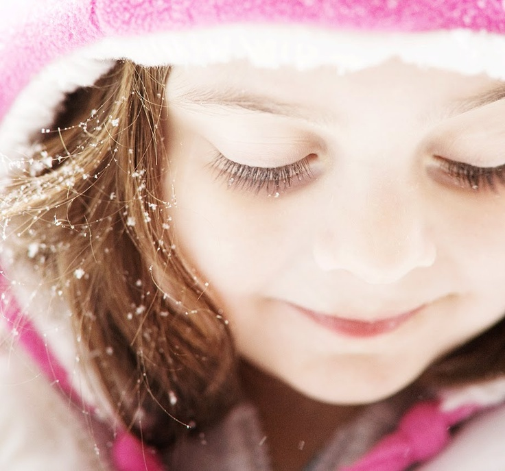 "Snowflakes that stay on my nose and eyelashes... | ""My ..."