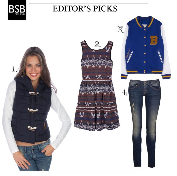 uber cool items, skinny jeans and a skater dress for the perfect #casual_look #fw13_bsb