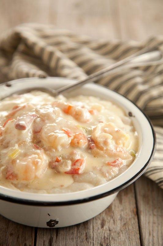 on the paula deen network bubba s shrimp amp grits http www pauladeen ...