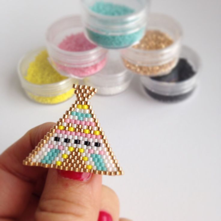 DIY « Tipi » en perles miyuki