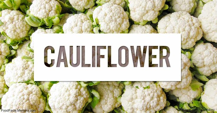 Learn more about cauliflower nutrition facts, health benefits, healthy recipes, and other fun facts to enrich your diet. http://foodfacts.mercola.com/cauliflower.html?utm_source=dnl&utm_medium=email&utm_content=secon&utm_campaign=20180123Z1_dnl_v_23&et_cid=DM181519&et_rid=192314869
