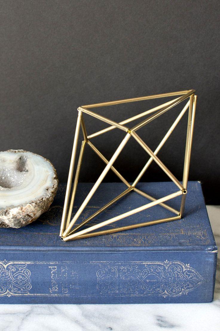 DIY - himelli geometric diamond