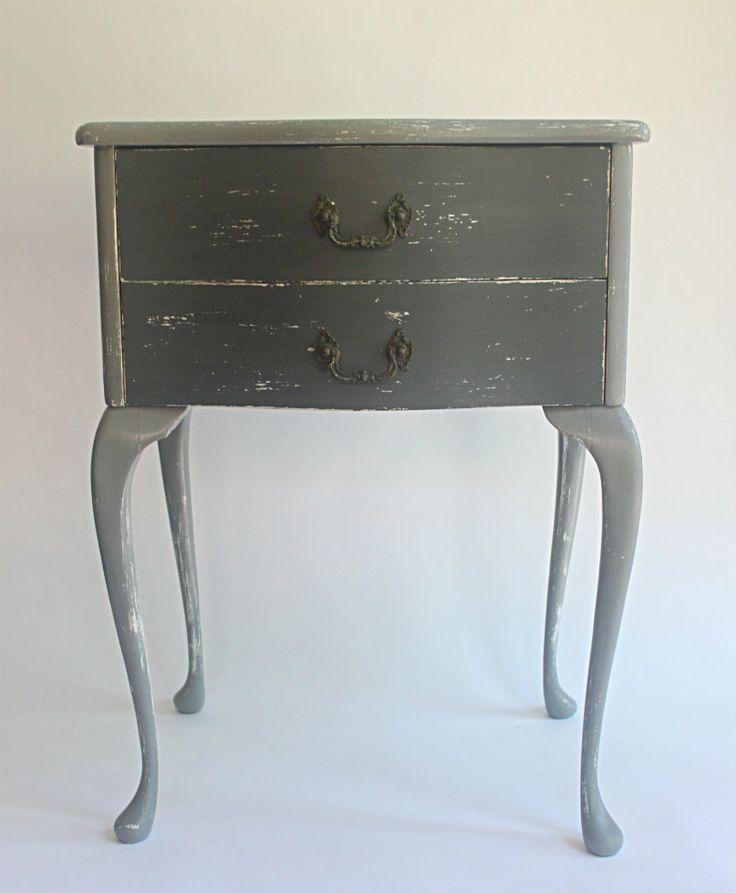 Vintage Side Table/ Bedside Table