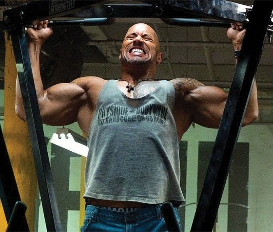 For Micah:  Bodybuilding.com - Dwayne Johnson's Rock-Hard Hercules Workout And Diet Plan