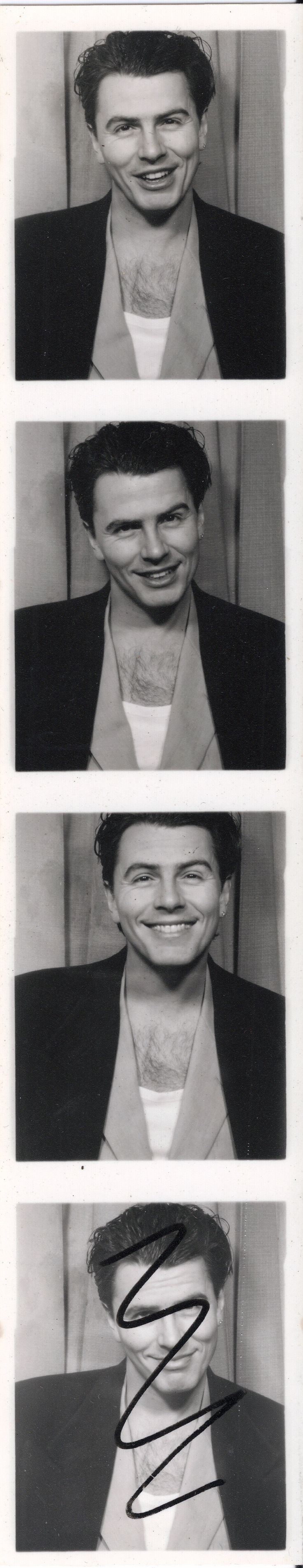 Duran Duran (the Wedding Album) - photo-booth shots, released for 20th anniversary - John Taylor