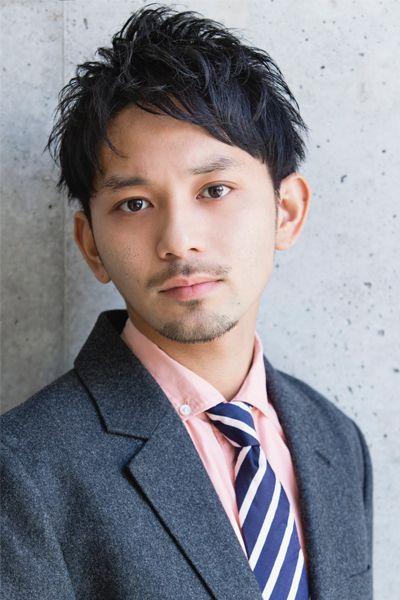 MENSビジネス [モデル:滝島 大介/スタイリスト:HIRO] | ヘアスタイル・髪型 | 美容室 リップス