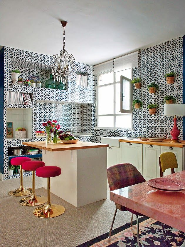 design is mine : isn't it lovely?: SPACE: LIVING PINK.