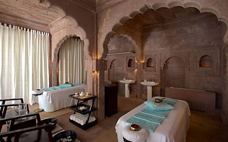 The new ila spa at Raas boutique hotel in Jodhpur