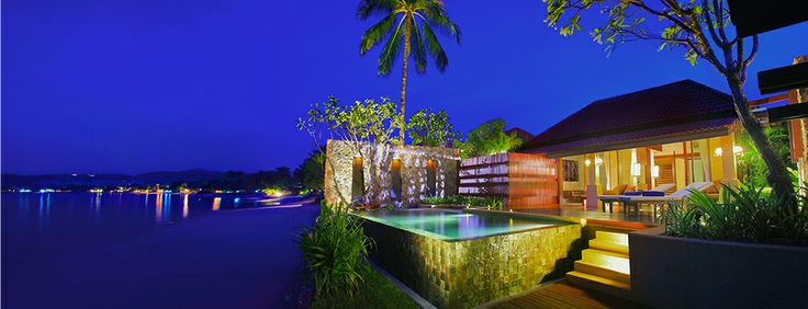 Prana Beach Villas, beach hotel, samui