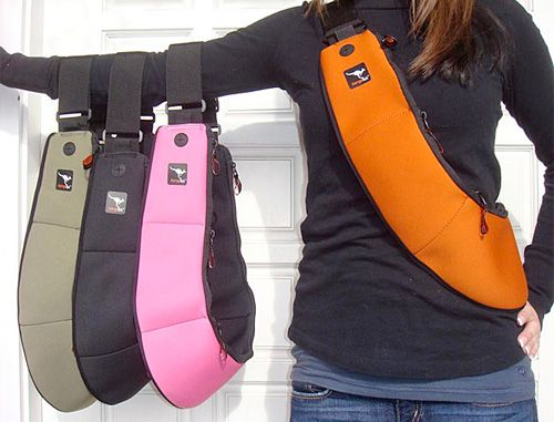 KangaTek Bandolier Bag - Would be great for long walks/hikes with the dogs.