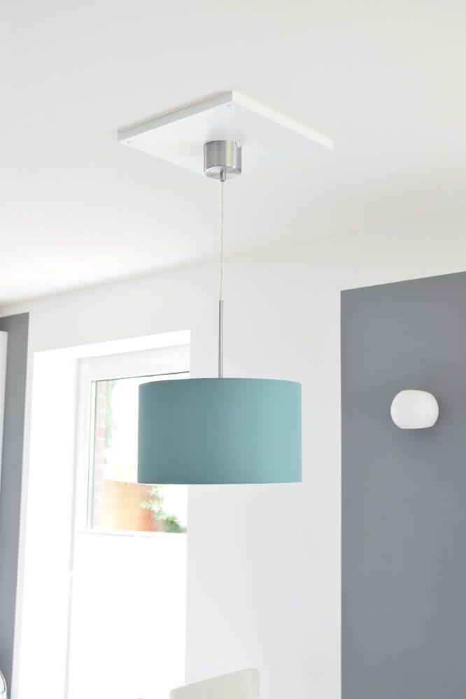 Deckenlampe Von IKEA Ber Dem Esstisch