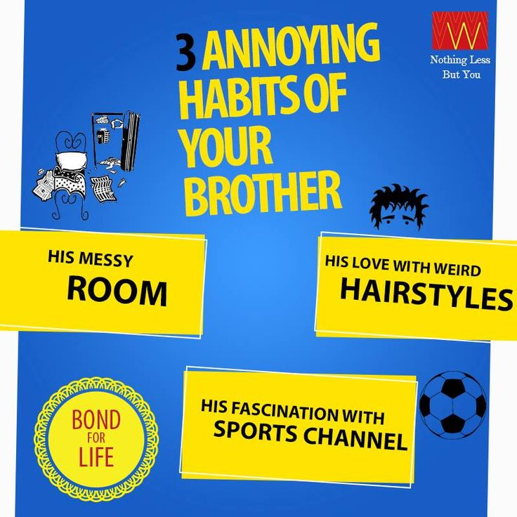 How many of these do you relate to? Tag your #brothers now!