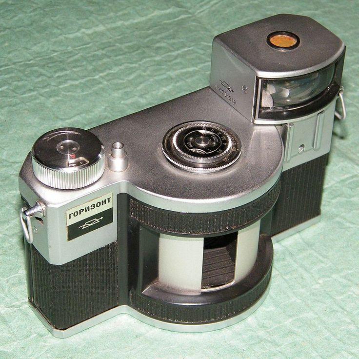 Панорамный фотоаппарат «Горизонт», СССР, 1967